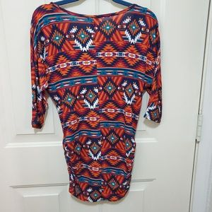 Forever 21 Tops - Rue 21 Patterned Stretch Blouse